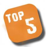 Top 5 meest gelezen artikelen in de schoonmaak