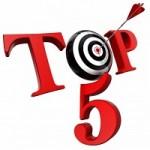 Top 5 meeste gelezen artikelen in de schoonmaak
