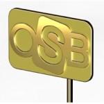 OSB organiseert speldjesregen voor glas- en geveljubilarissen