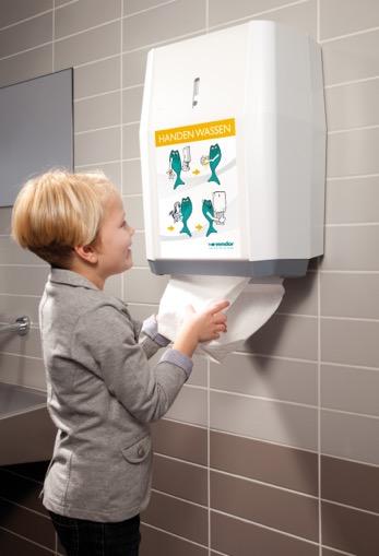Je handen drogen met katoen is na papier het meest hygiënisch