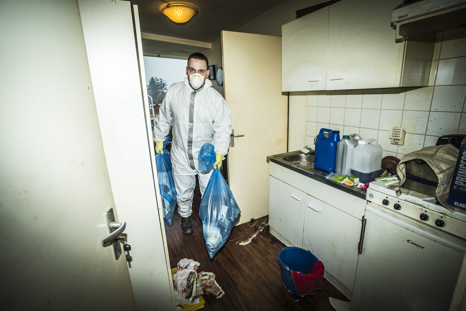 Vacatures crime scene cleaner