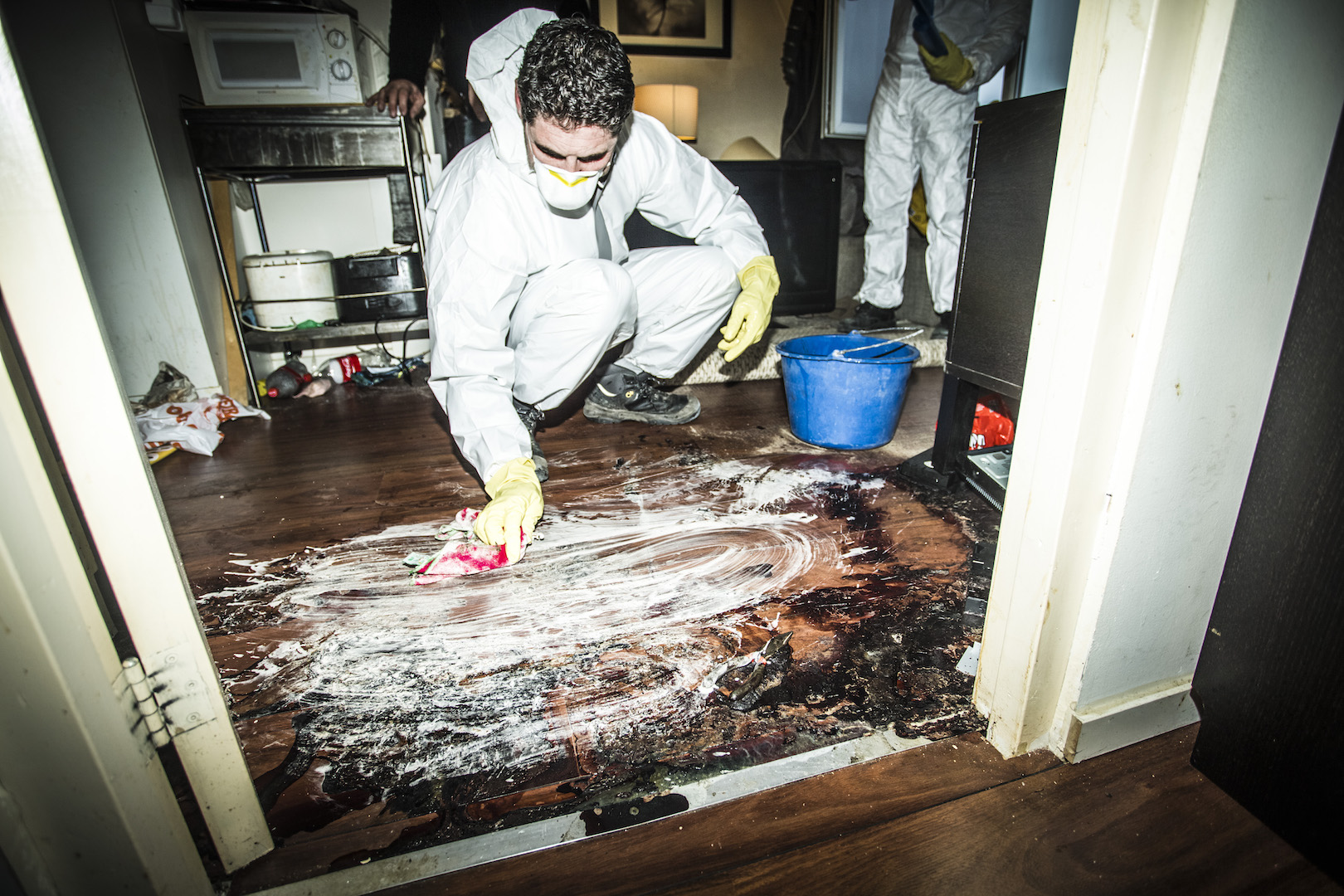 Crime scene cleaner belgie vacature