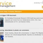 Meld u aan voor de nieuwsbrief van Service Management