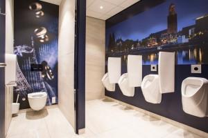 Fasegewijs zullen de diverse toiletgroepen komende tijd omgebouwd worden en onder de nieuwe merknaam Sanifair visueel zichtbaar zijn.
