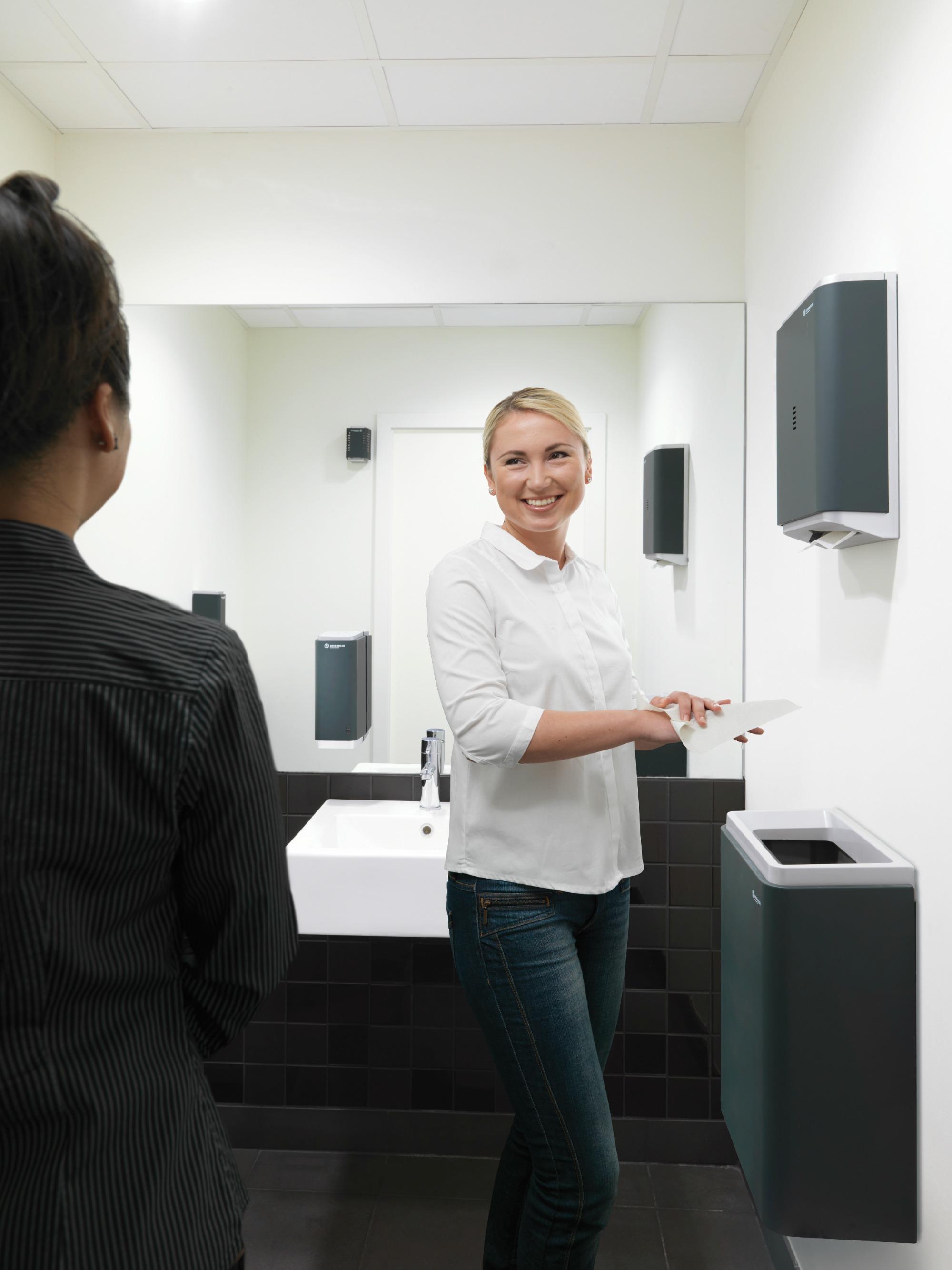 Papieren doekjes zijn de meest hygiënische manier om je handen te drogen