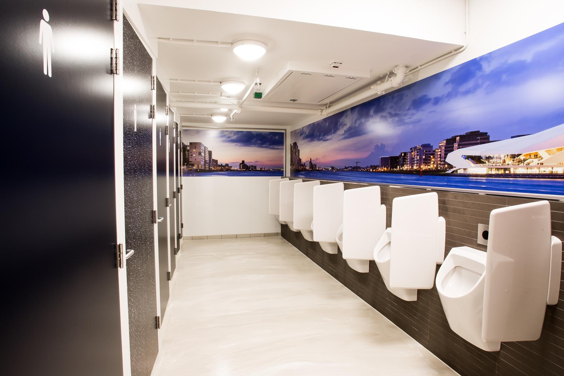 Toiletten sanifair op amsterdam centraal geopend service