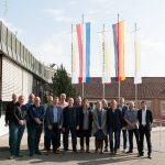 Hazet met relaties op bezoek bij fabrieken van Kärcher