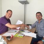 2016-07-27- contractondertekening glasbewassing Swalm & Roer