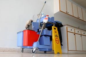 Leveranciers van middelen en materialen in de schoonmaak worden vermeld in de marktgids schoonmaak.