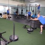 Personeel Succes Schoonmaak aan het sporten geslagen