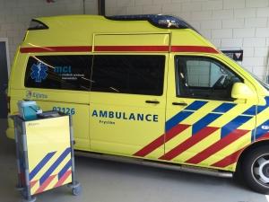 Ambulances schoonmaken