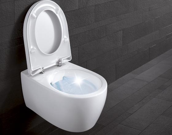 Toilet Zonder Spoelrand : Sphinx lanceert toilet zonder spoelrand