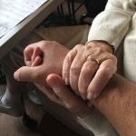 Glazenwassers zetten ouderen in het zonnetje in december