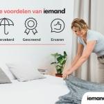 Online schoonmaakplatform iemand.nl wintMarCom Award