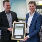 Kärcher krijgt duurzaamheidscertificaat voor gebouw in Made