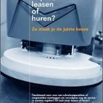 Schoonmaakmachine: kopen, leasen of huren?