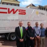 CWS bevoorraadt 85 locaties elektrisch in regio Groningen
