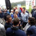 150 golfers aan start stralende schoonmaakgolfdag