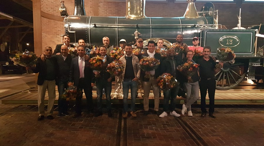 Hago Rail Services huldigt jubilarissen
