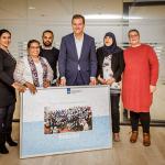 Schoonmakers RSO bedanken minister Asscher