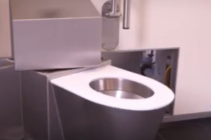 Sanitronics lanceert volautomatisch zelfreinigend toilet