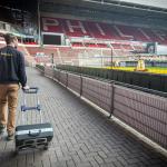 CSU en Heijmans hebben Philips Stadion uitgerust met innovatief schoonmaaksysteem BeSense