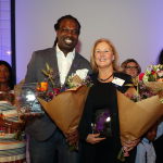 Nagenieten van de Golden Service Awards