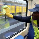 De lessen van 6 jaren schoonmaak van treinen (contract 2018 weer op de markt)