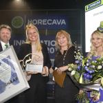 Lotus Pro wint Karel de Vos duurzaamheid award op Horecava