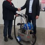 Dolmans en AT Cleaning ontwikkelden samen de schoonmaakmachine Combirein 2.0