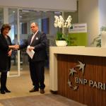 Dolmans nieuwe schoonmaakpartner BNP Paribas