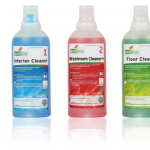 Gerecyclede doseerflessen en het ISO14001 certificaat voor Spectro