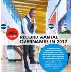 Marktonderzoek 2018: schoonmaakbedrijven groeien verder dankzij record aantal overnames