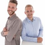 Harm van Helmont en Koen Meulensteen: Onze jongste bazen ooit over hun HvH Cleaning & Facilities