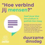 Oproep van Asito: Hoe verbind jij mensen?
