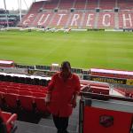 De werkplek van Joyce Felicia: Galgenwaard Stadion van FC Utrecht