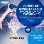 Kimberly-Clark toont virtuele realiteit van het toilet tijdens Interclean Amsterdam