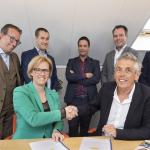 CSU tekent contract voor schoonmaak bij stichting Aloysius