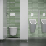TECE lanceert antibacteriële bedieningsplaten voor wc en urinoir