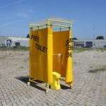 Yellow Spot: Een mobiel 'protest-toilet'