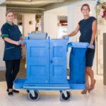 CSU introduceert werkwagen met schok dempende foamwielen