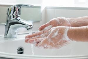 handen wassen handhygiëne