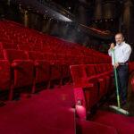 De werkplek van Vezi: Het Beatrix Theater in Utrecht