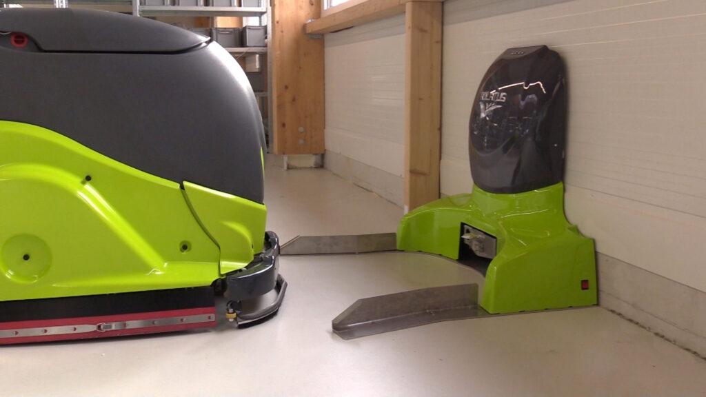 Adlatus autonome schoonmaakrobot
