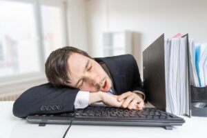 slapend dienstverband
