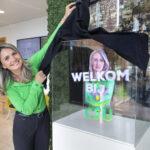 Schoonmaakbedrijf CSU introduceert een Hologram Hostess genaamd Almina