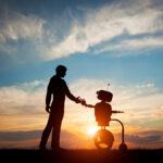 bij cobotica draait het erom dat schoonmaker en schoonmaakrobot harmonieus samenwerken