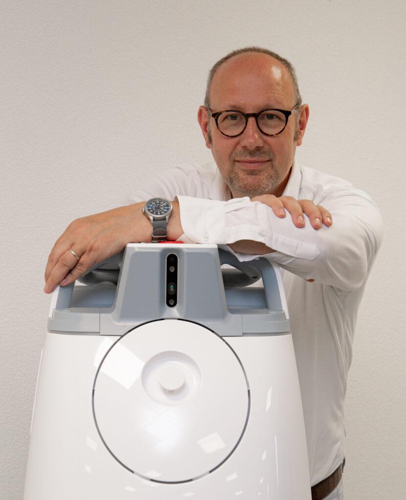 Stefan Bergman over hoe schoonmaakrobots het verschil kunnen maken