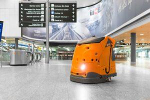 Schoonmaakrobots zijn vooralsnog vooral geschikt voor het reinigen van grote oppervlakken