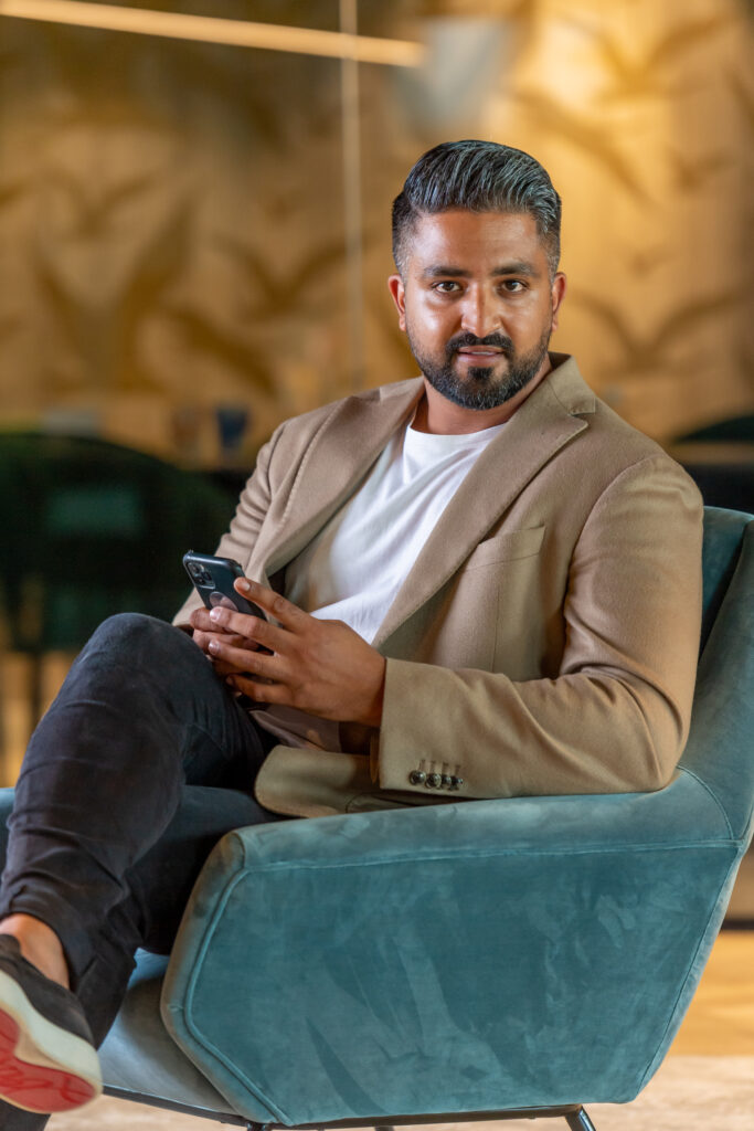 Achint Atwal, directeur-eigenaar van schoonmaakbedrijf Balans BV in Alkmaar